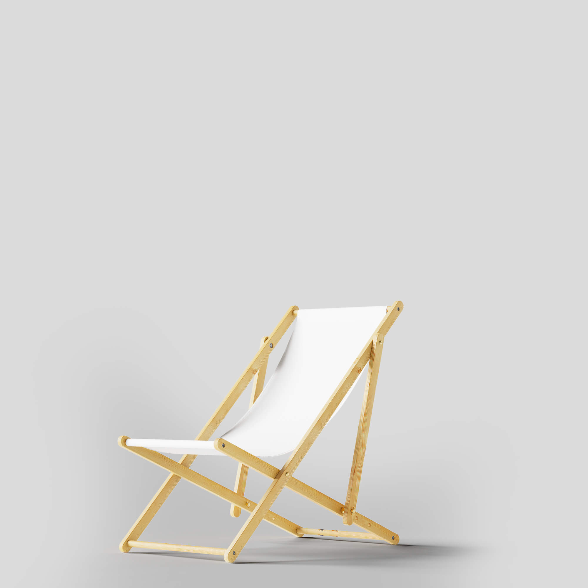 Blank Free Beach Chair Mockups PSD Template
