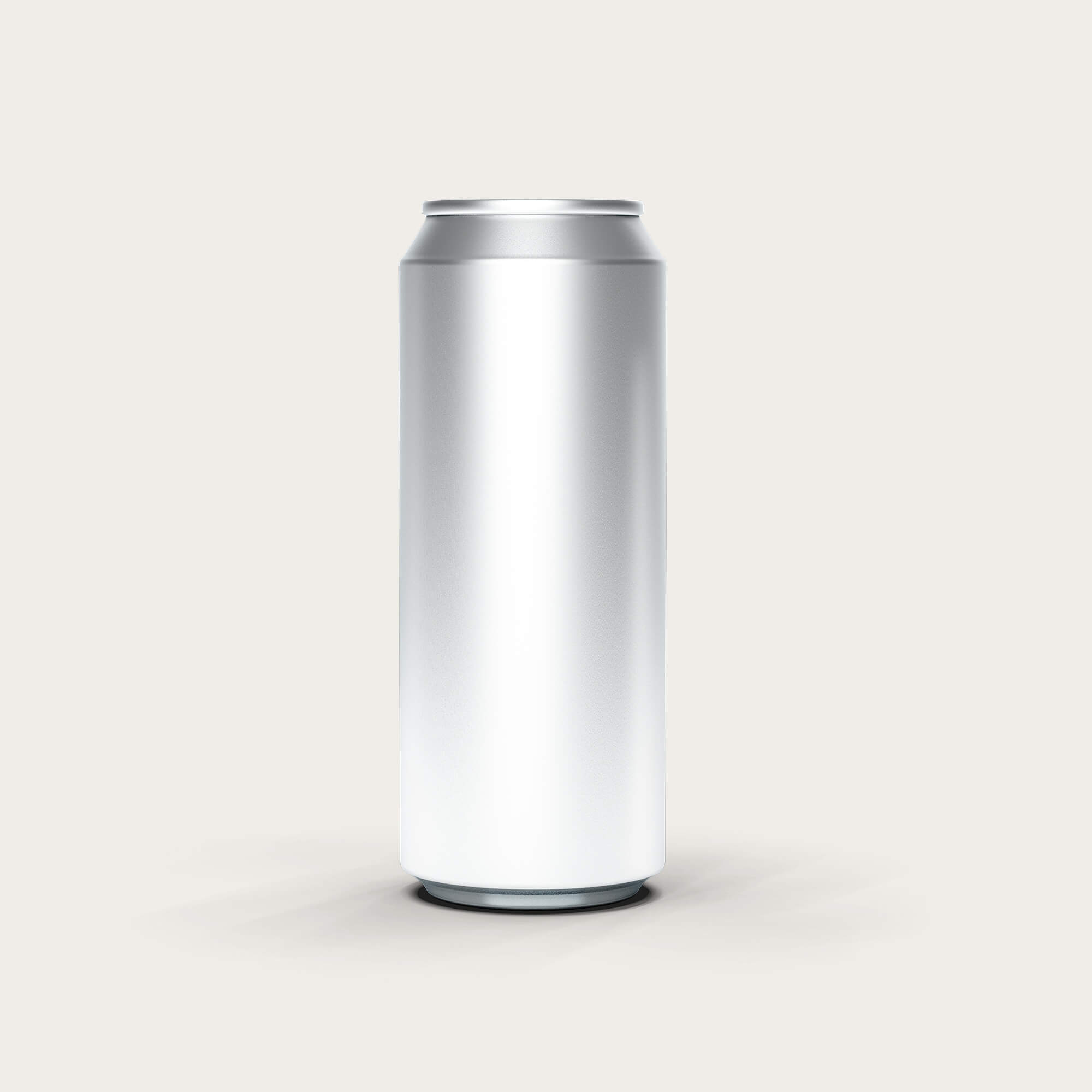 Blank Free Energy Drink Can Mockup PSD Template