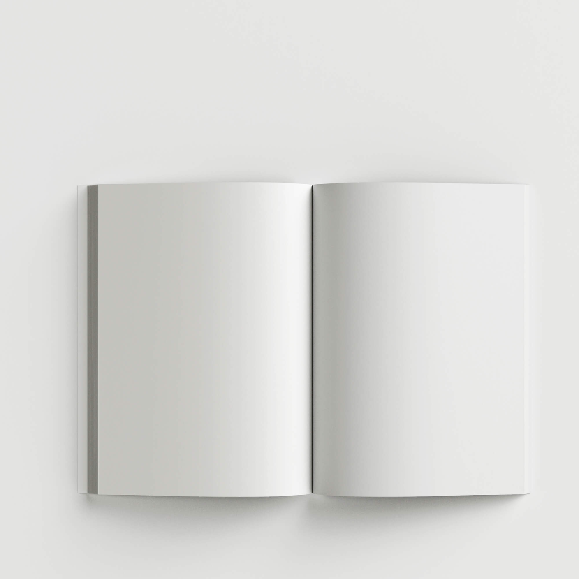 Blank Free Flip Book Mockup PSD Template