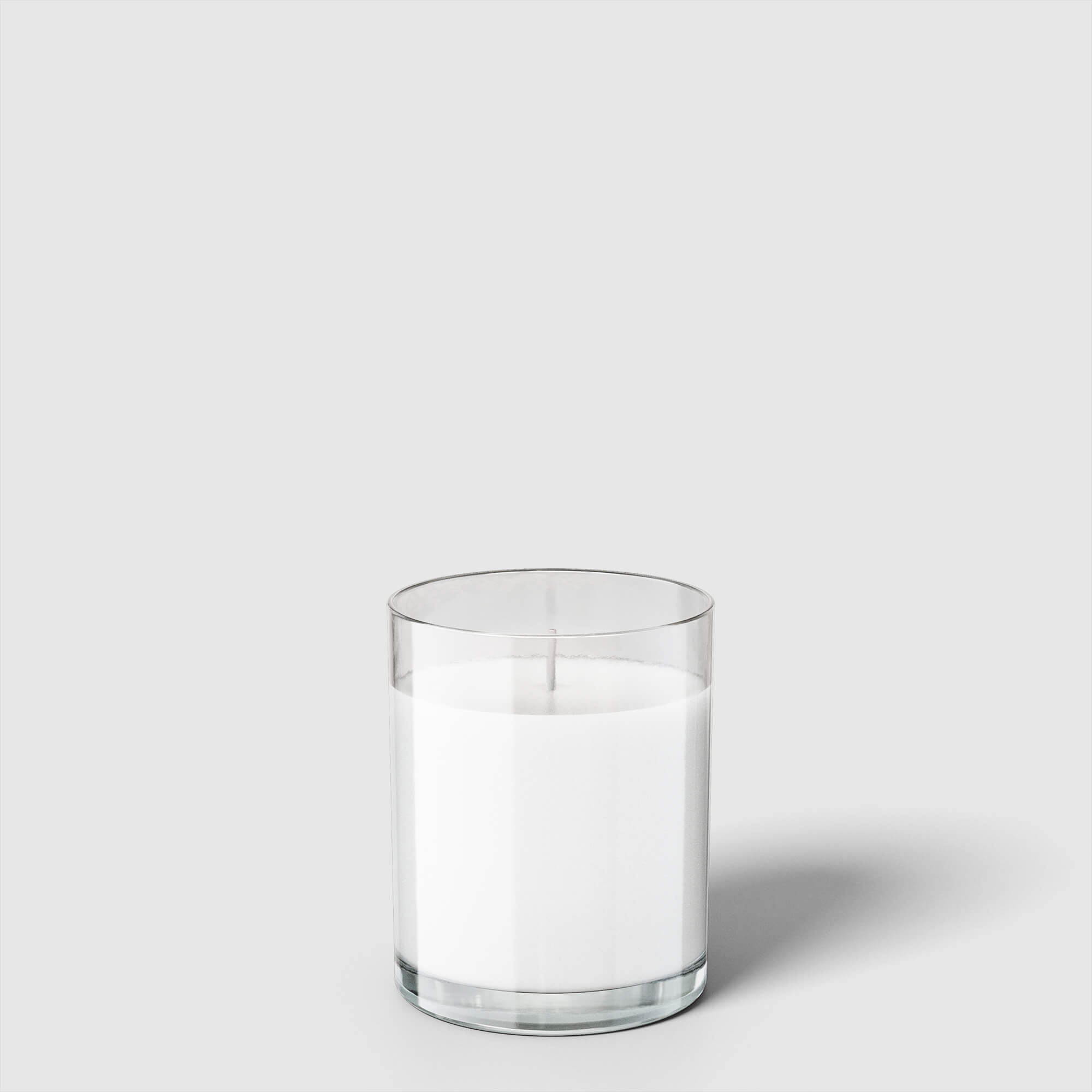 Blank Free Scented Candle Jar Mockup PSD Template