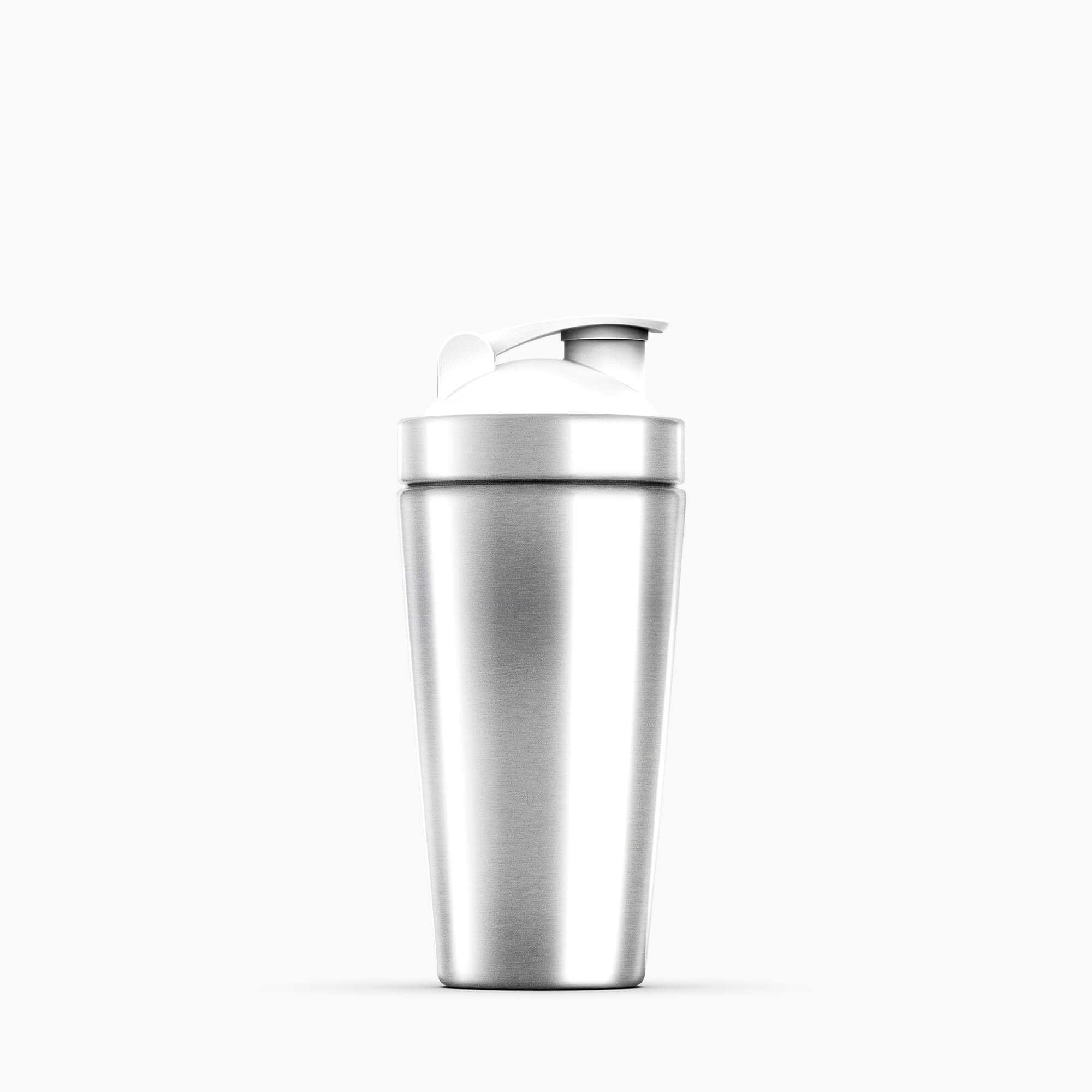 Blank Free Shaker Mockup PSD Template