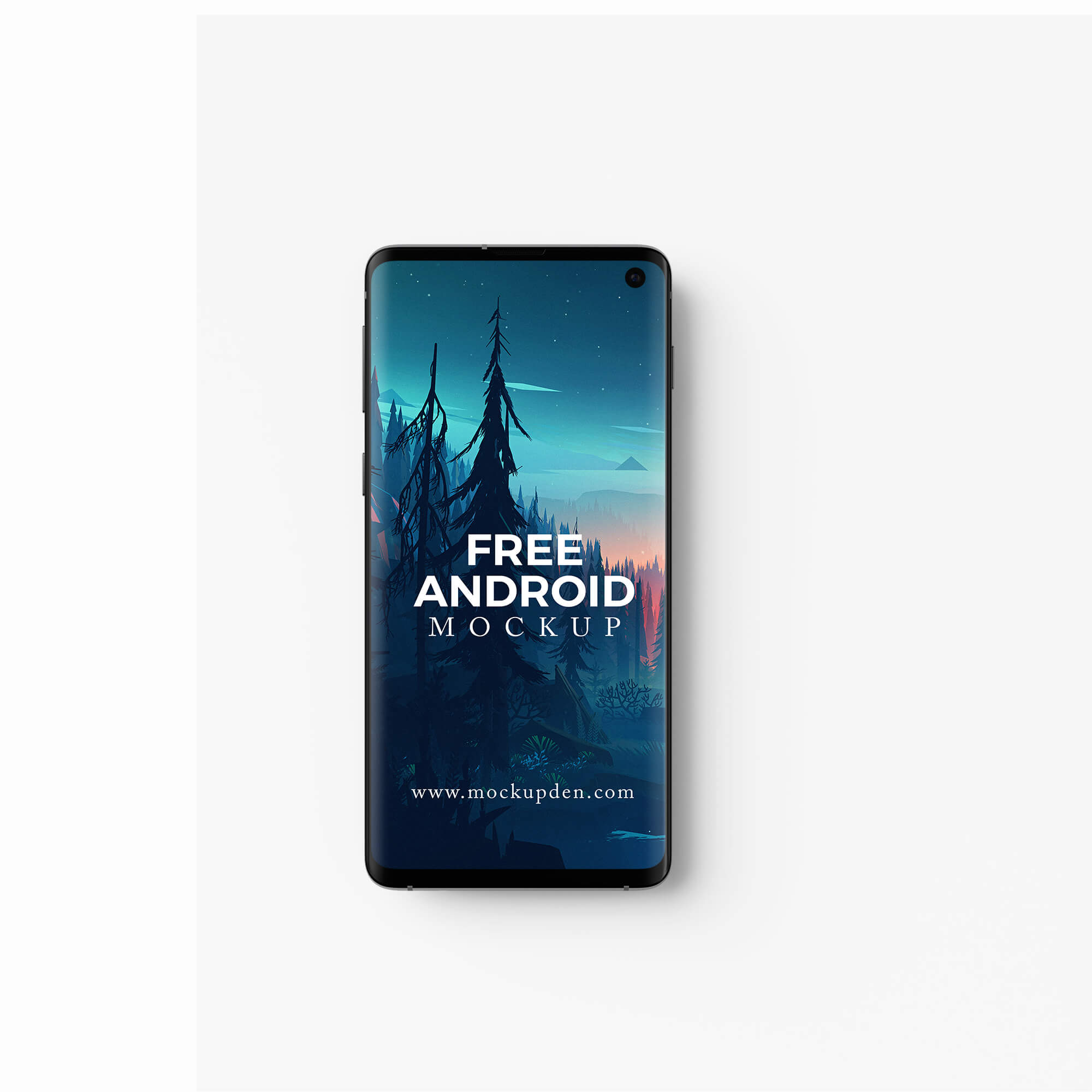 Design Free Android Mockup PSD Template