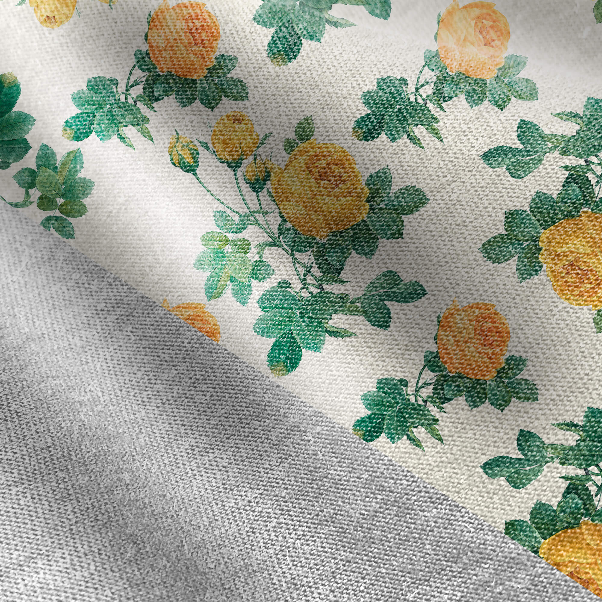 Editable Free Fabric Pattern Mockup PSD Template