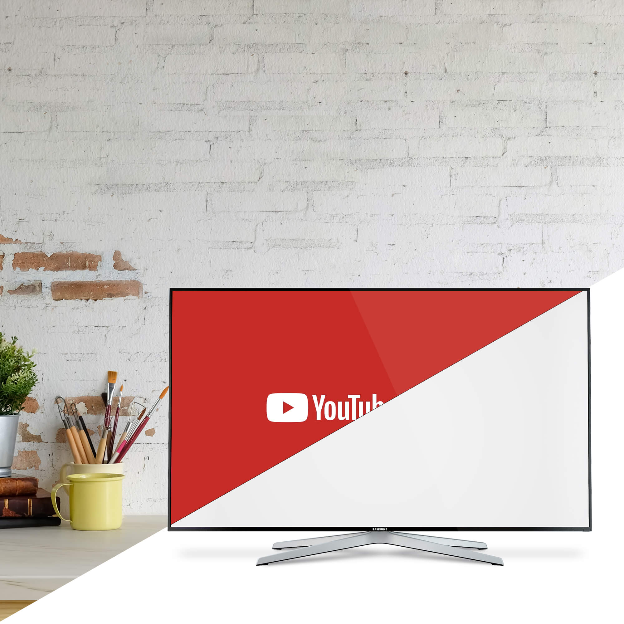 Editable Free YouTube Page Mockup PSD Template