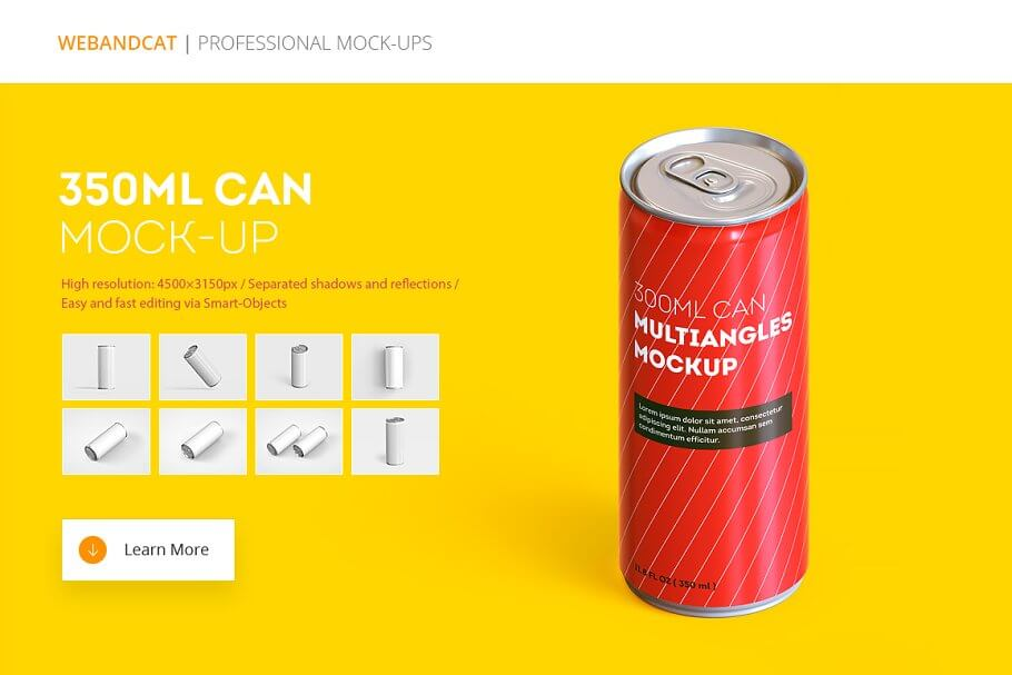 Energy Drink Can Mock-Up (2)