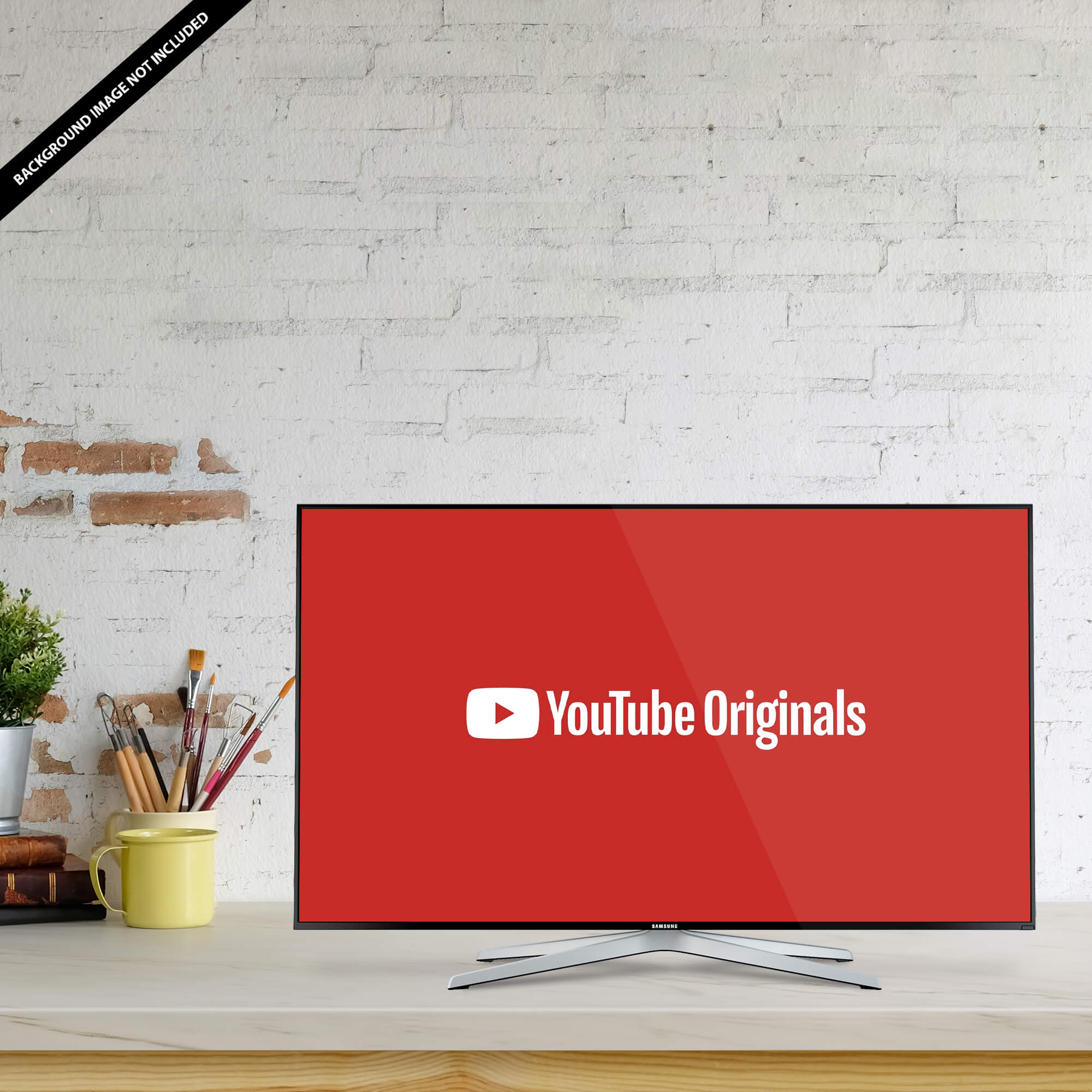Free YouTube Page Mockup PSD Template