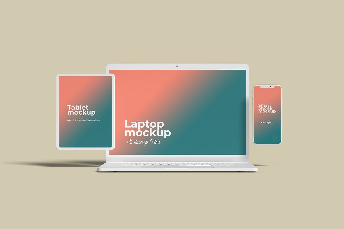 Multi Devices Website Mockup Vol.3