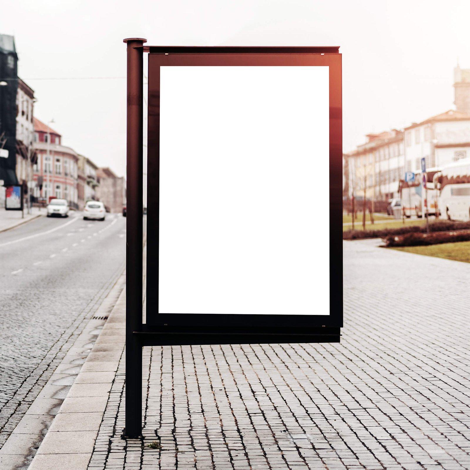 Blank Free AD Mockup PSD Template (3)