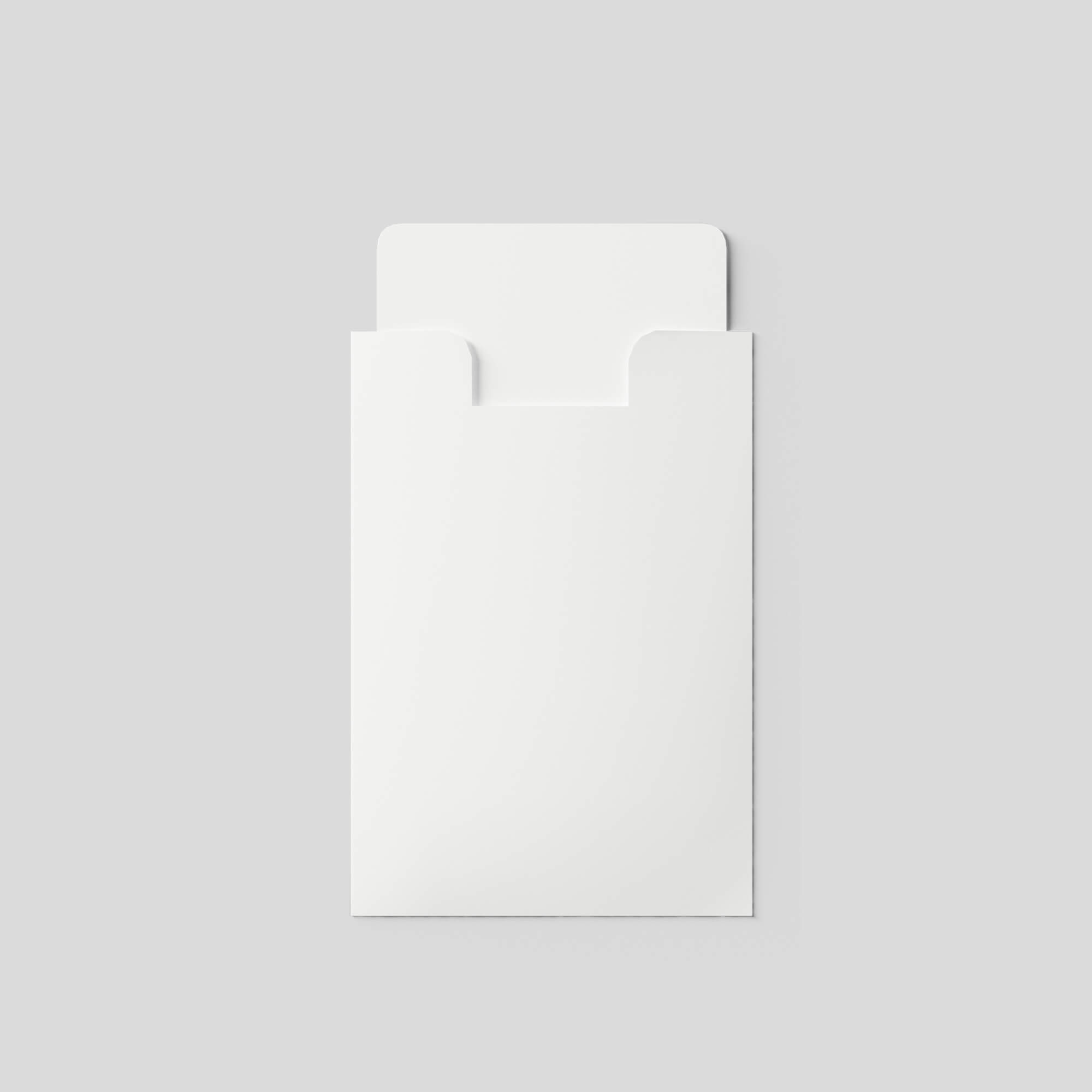 Blank Free Card Holder Mockup PSD Template