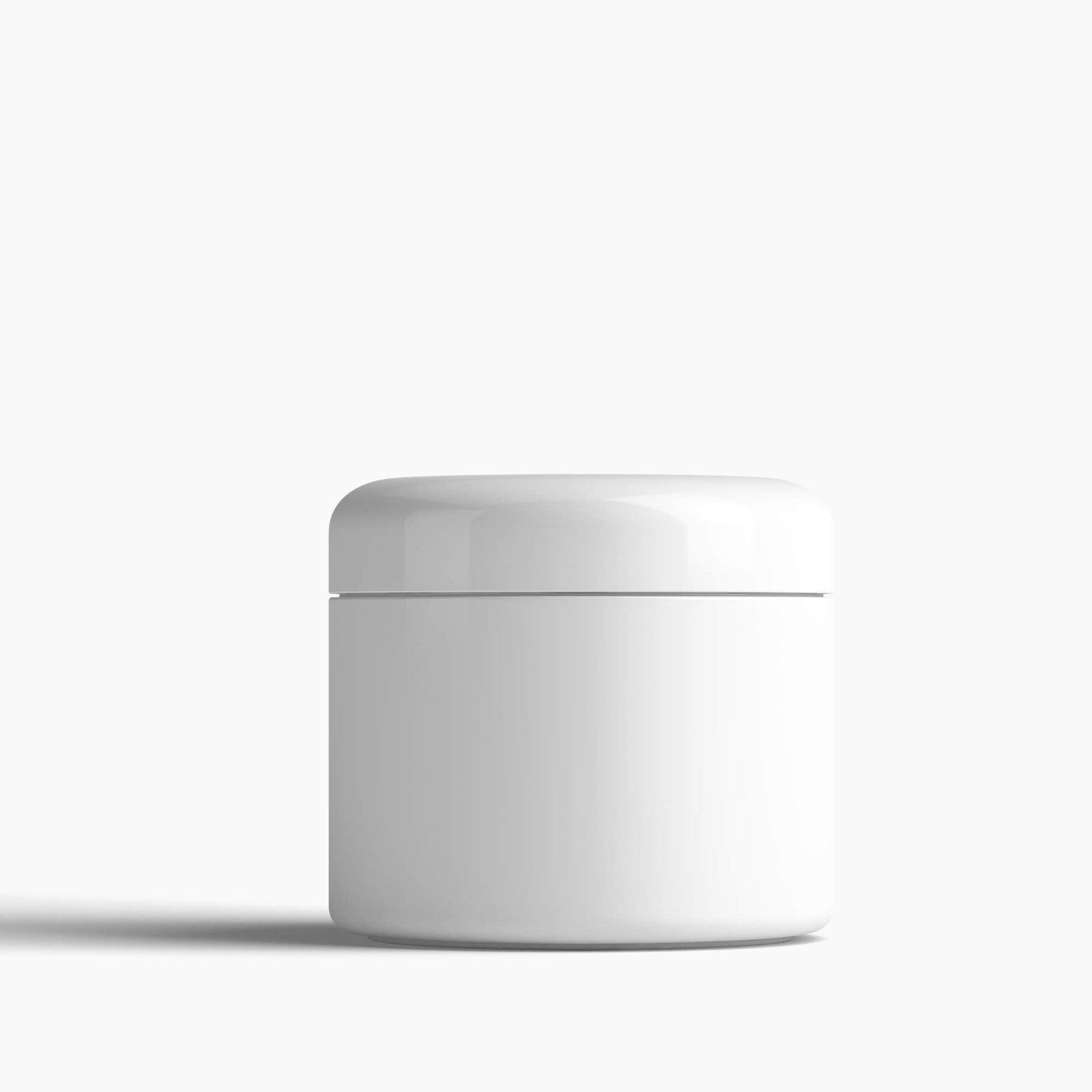 Blank Free Cream Mockup PSD Template