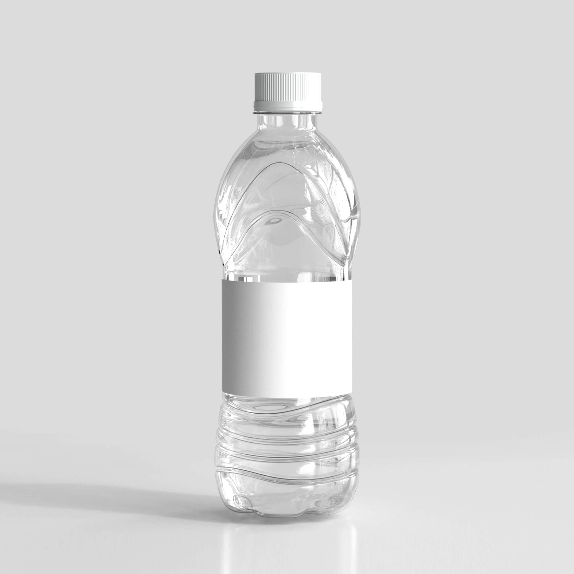Blank Free Drink Bottle Mockup PSD Template
