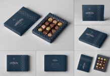Box Of Chocolates Mock-up