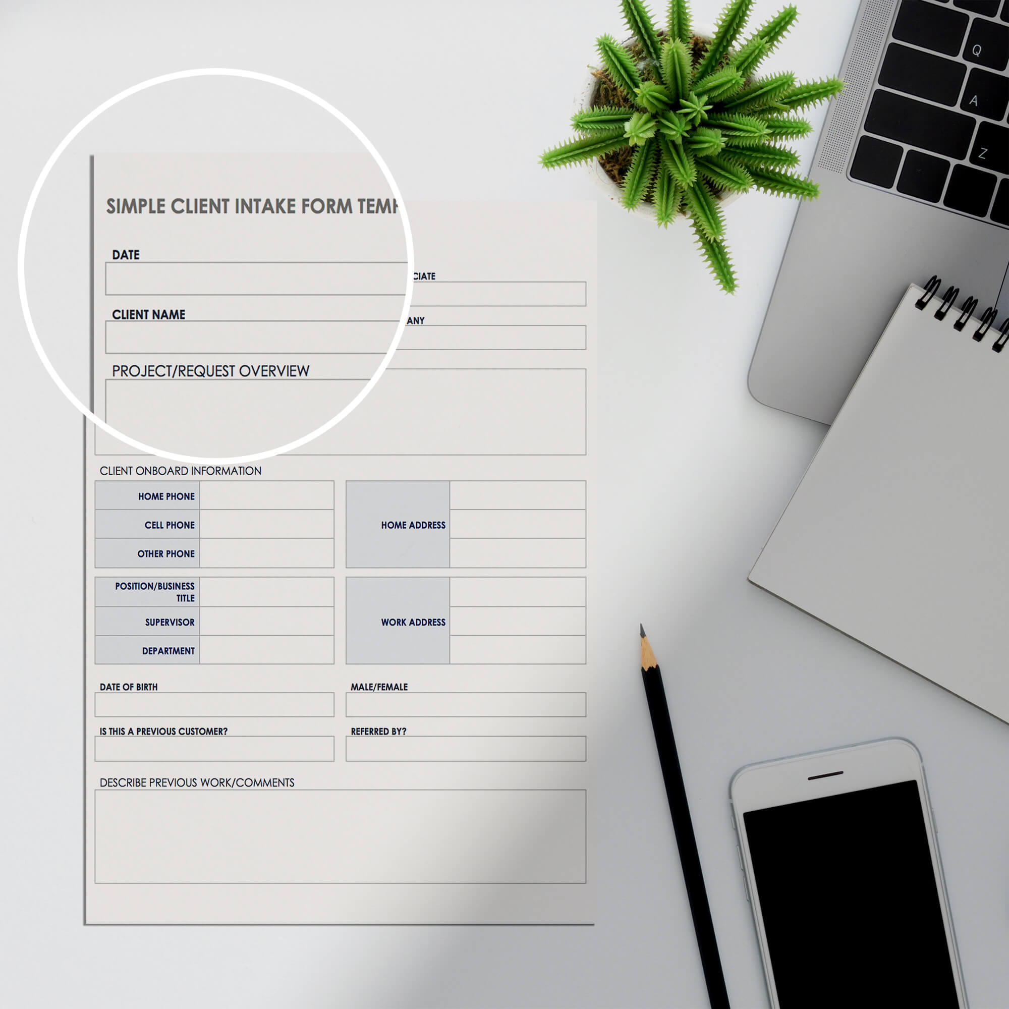 Close UP Of a Free Form Mockup PSD Template