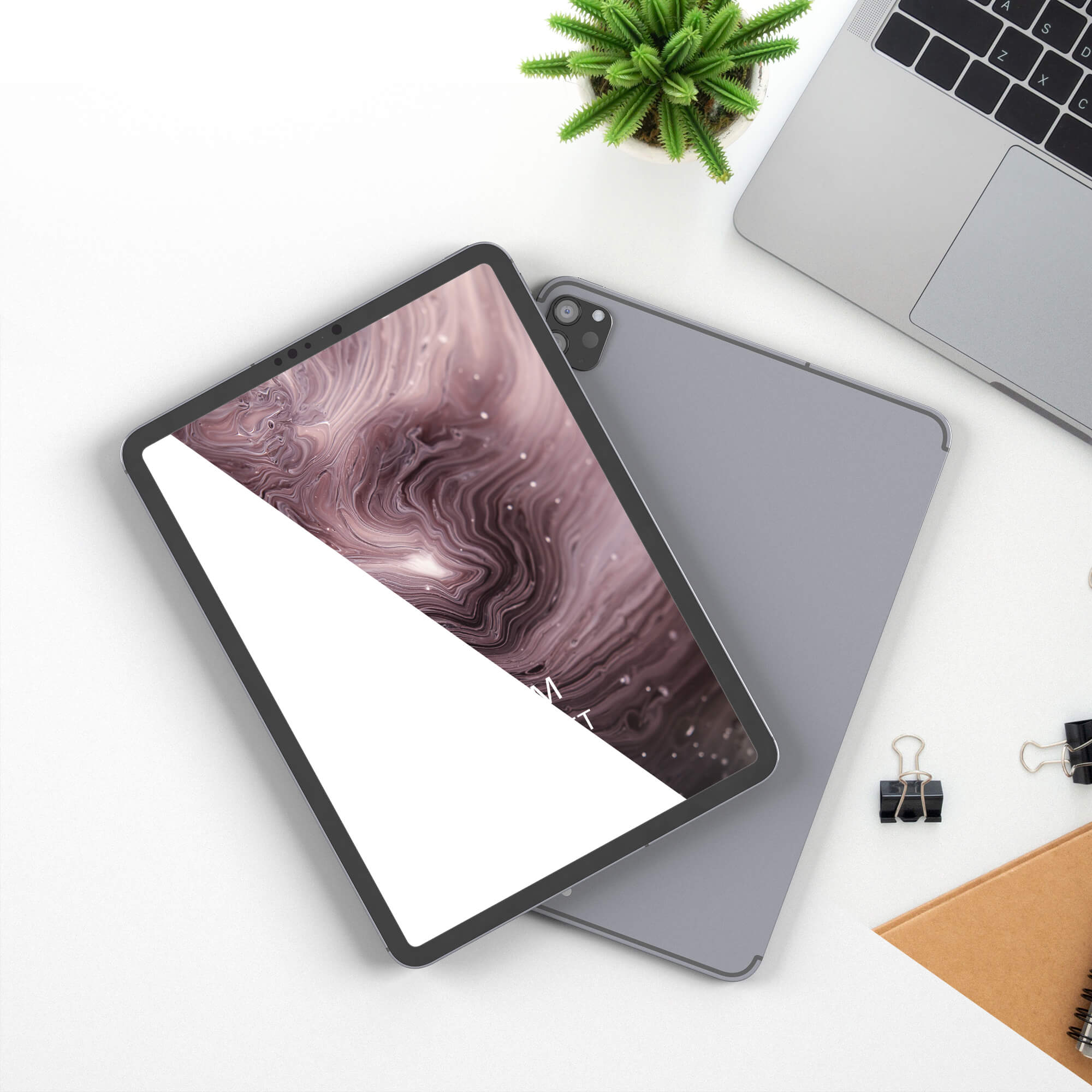 Editable Free Android Tablet Mockup PSD Template (1)