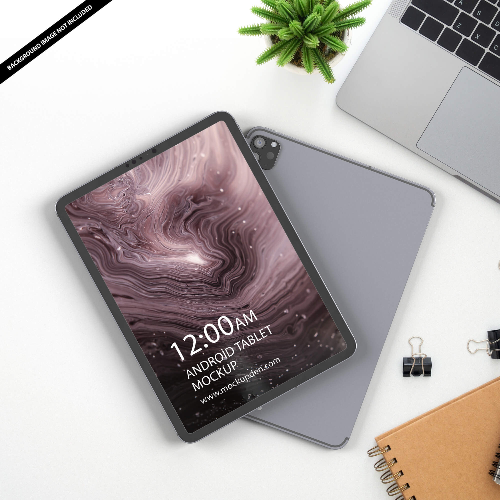 Free Android Tablet Mockup PSD Template (1)