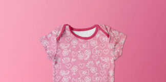 Free Baby Clothes Mockup PSD Template