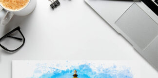 Free Drawing Mockup PSD Template