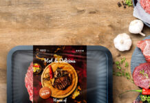 Free Food Pack Mockup PSD Template
