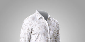 Free White Shirt Mockup PSD Template