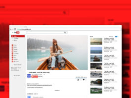 Free YouTube Pre Roll Mockup PSD Template