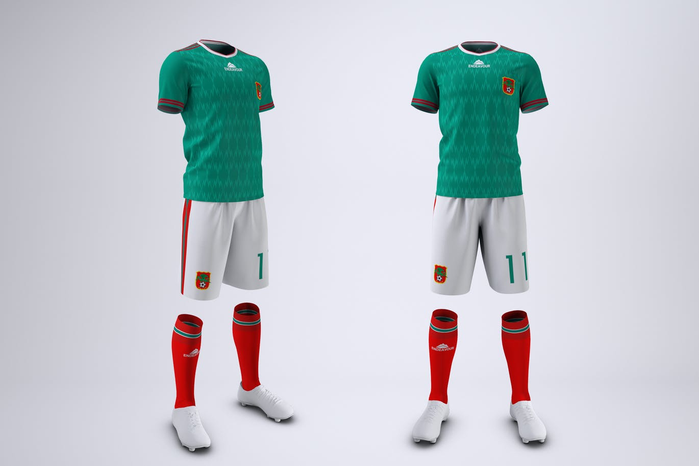 Soccer or Football Uniform Mock-Up