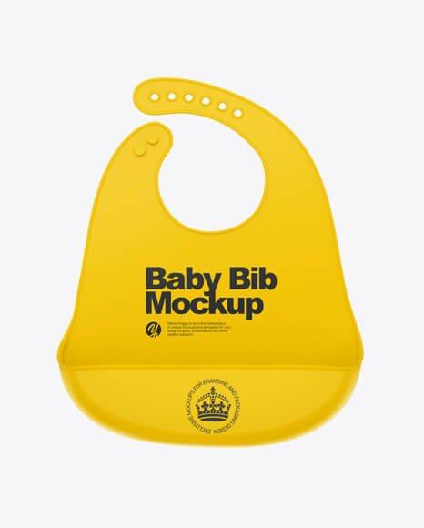 Baby Bib Mockup (1)