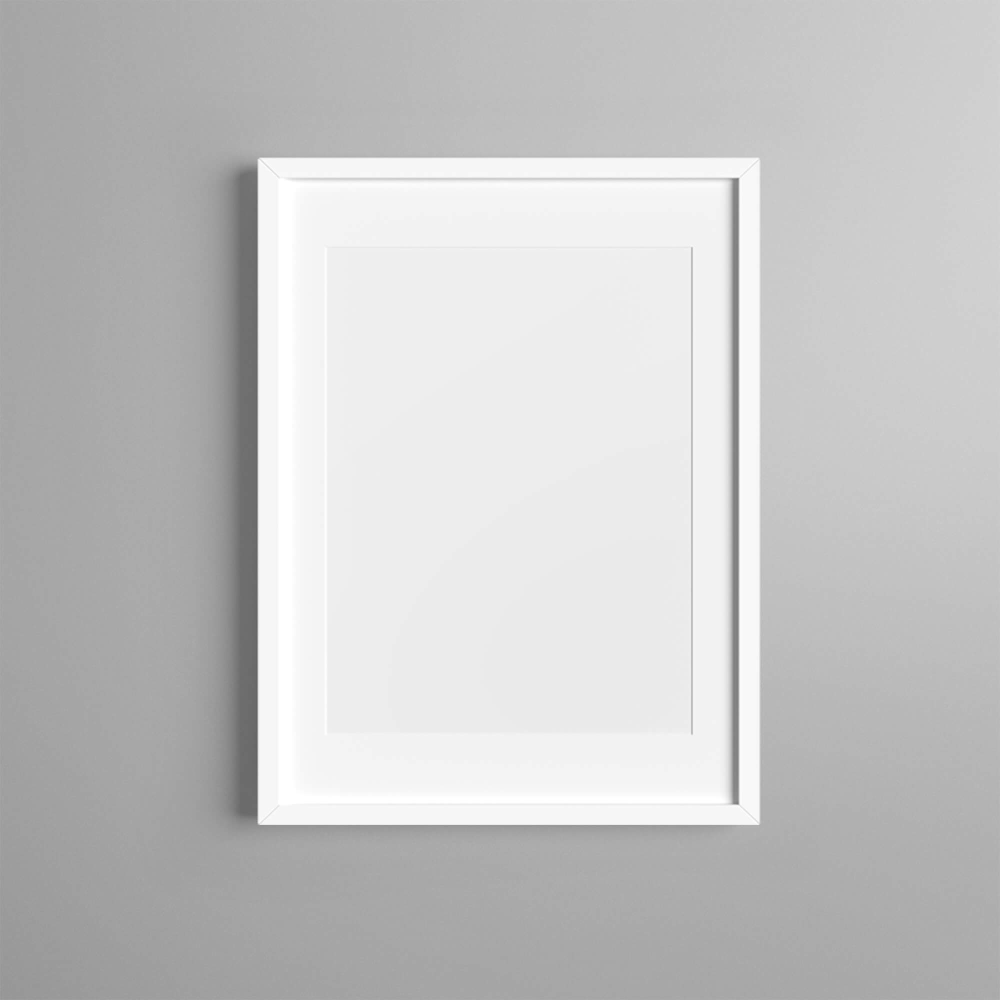 Blank Free Framed Mockup PSD Template (1)