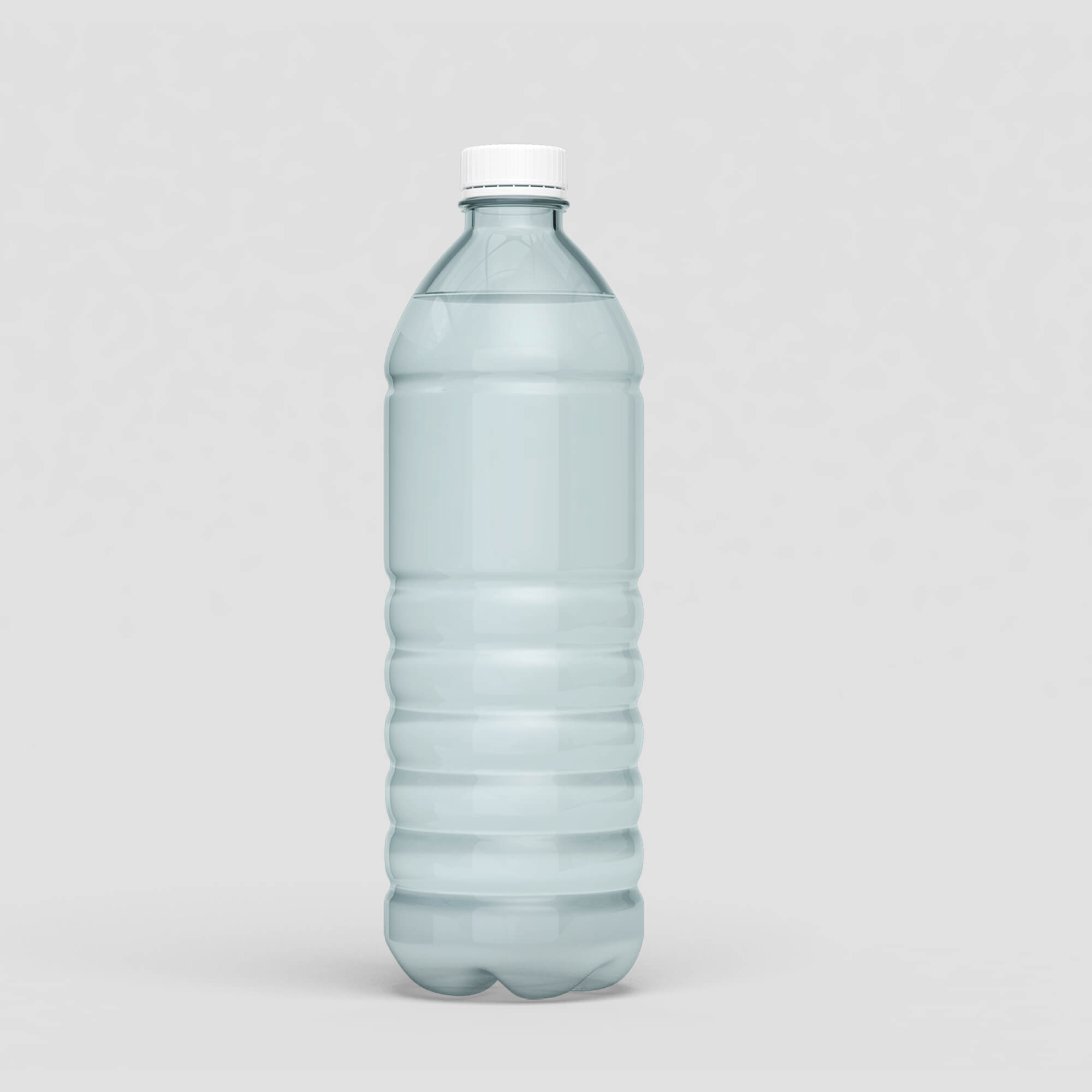 Blank Free Pet Bottle Mockup PSD Template