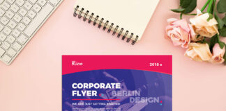 Free A4 Paper Mockup PSD Template (1)