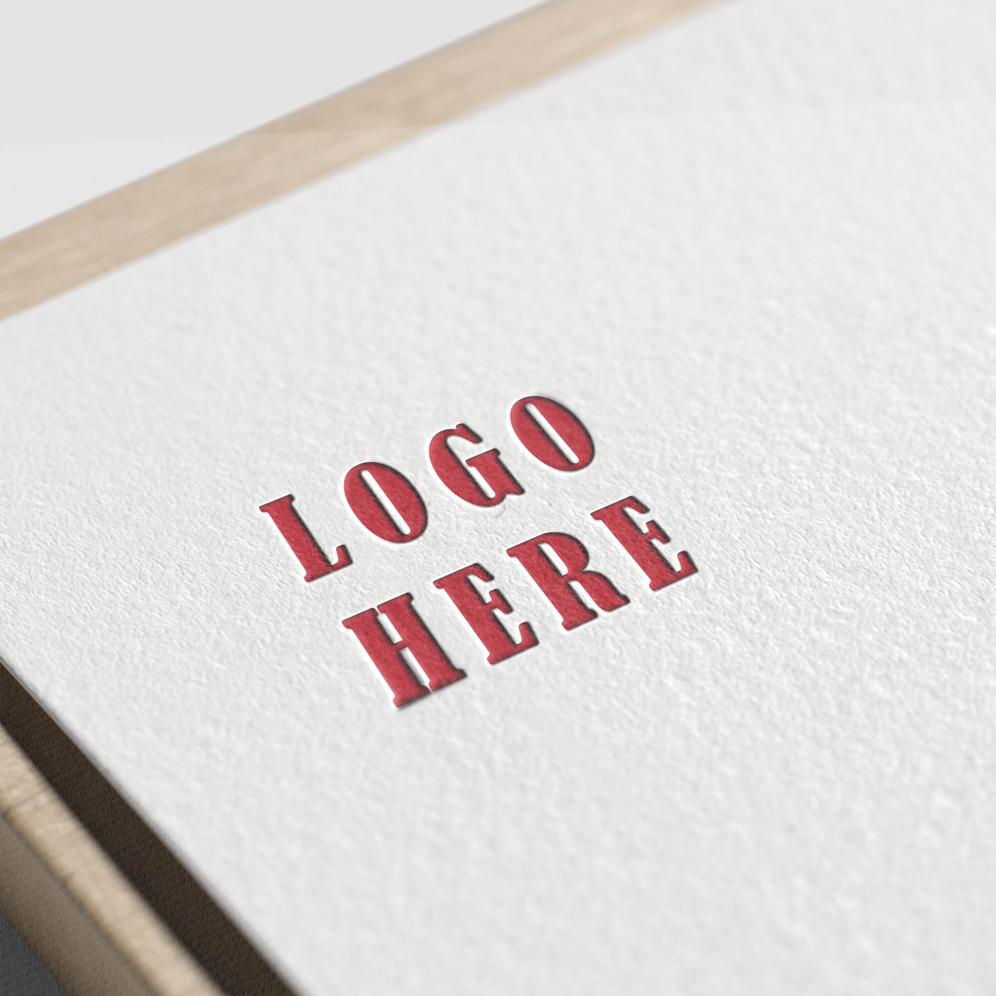 Free Paper Logo Mockup PSD Template (3)