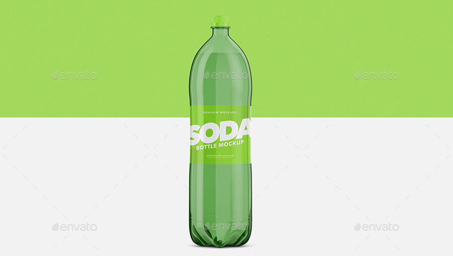 Soda Bottle Pet - Mockup
