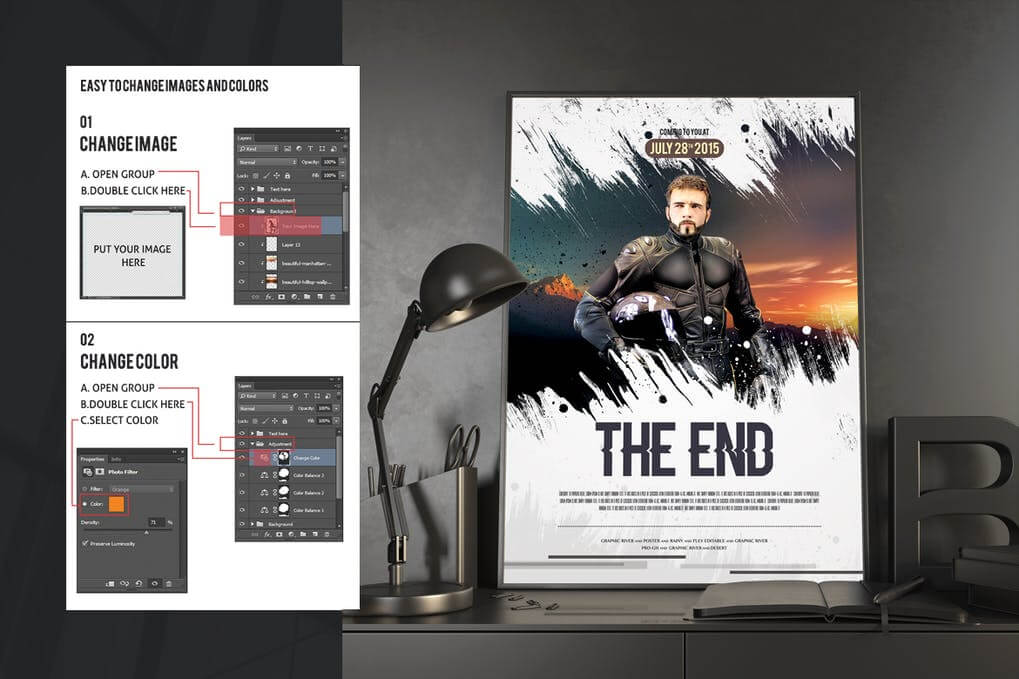 The End Movie Poster