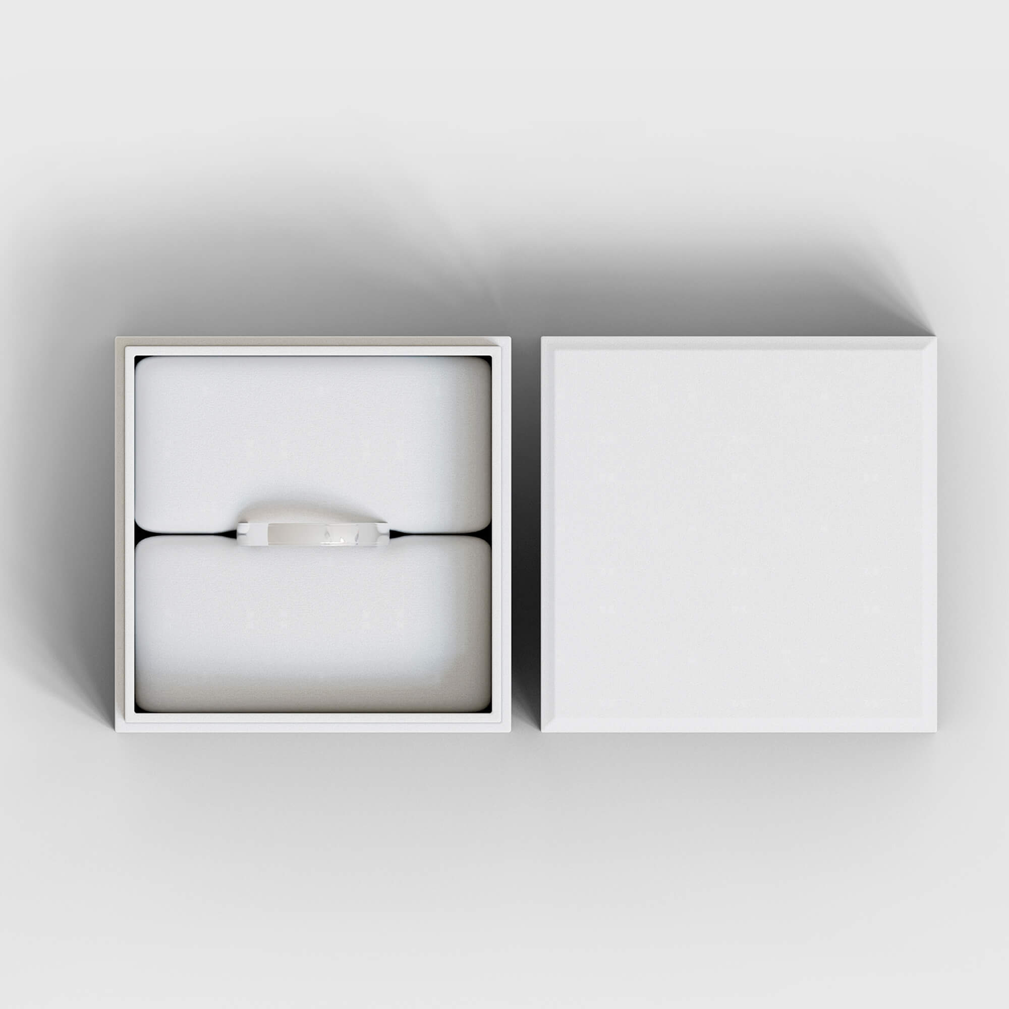 Blank Free Jewelry Packaging Mockup PSD Template