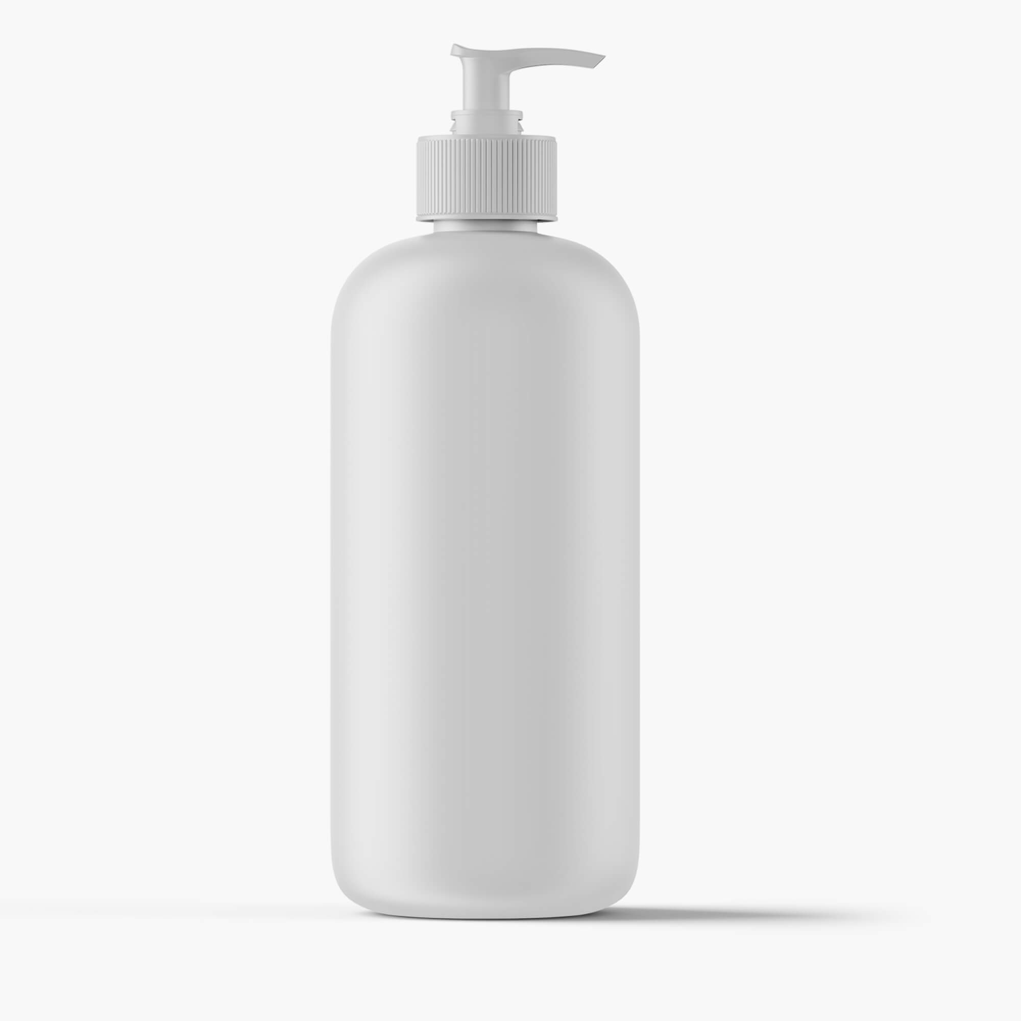 Blank Free Lotion Bottle Mockup PSD Template