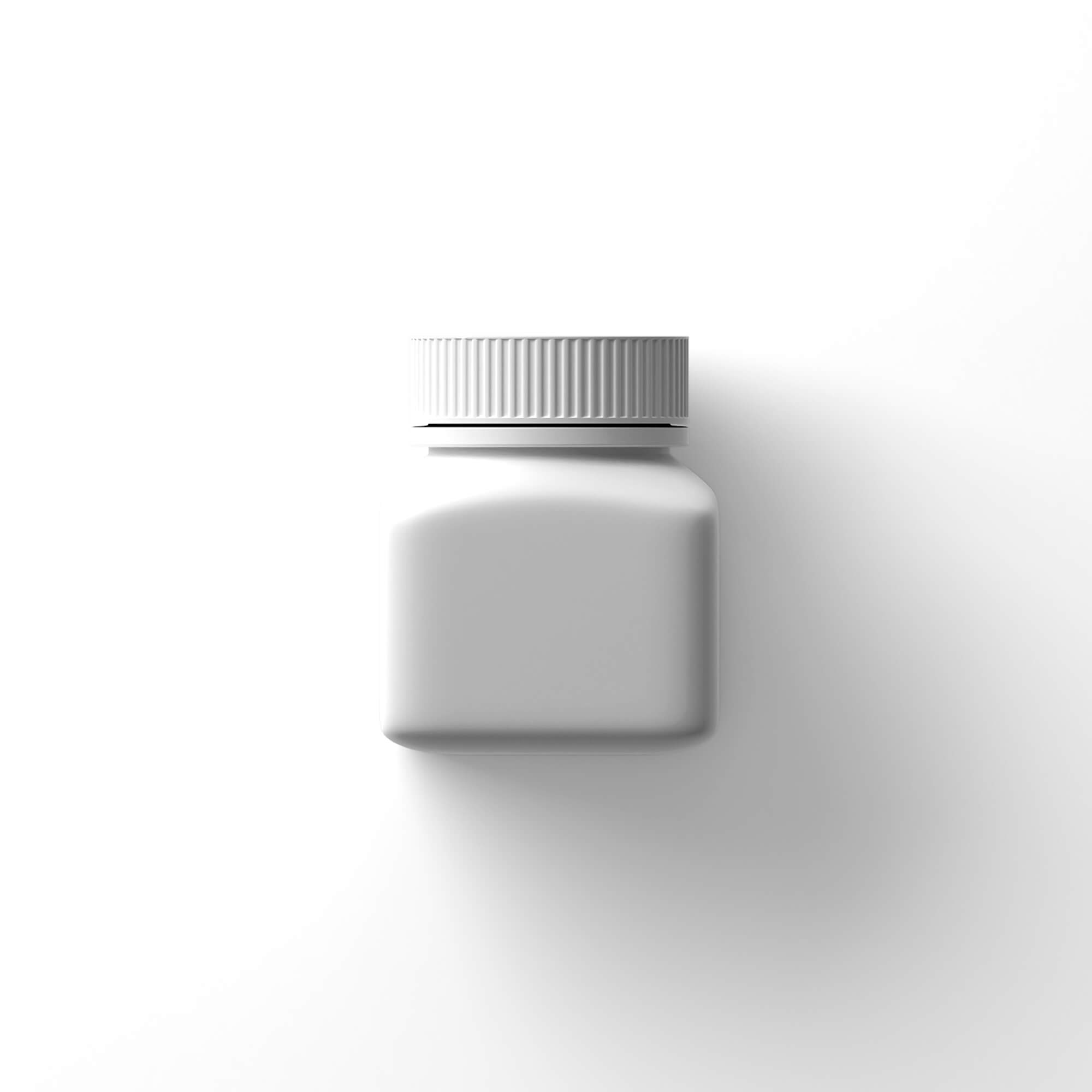 Blank Free Small Bottle Mockup PSD Template (1)