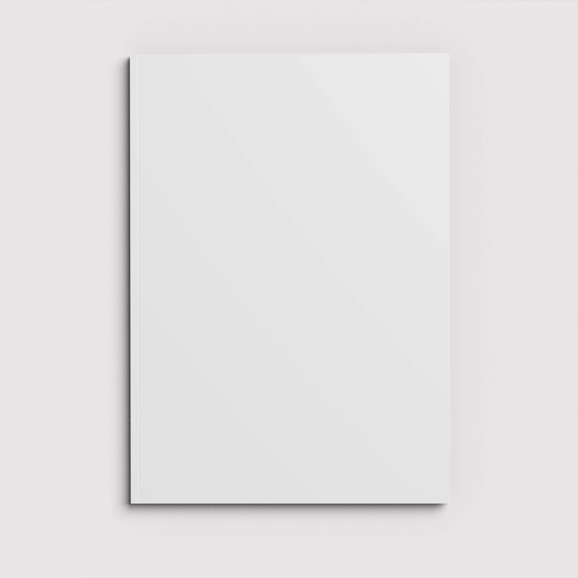 Blank Free Soft Cover Mockup PSD Template