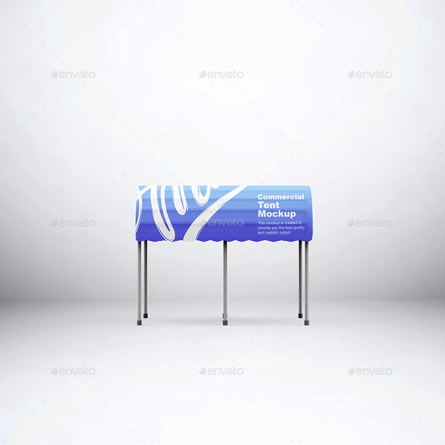 Commercial Tent Mockup