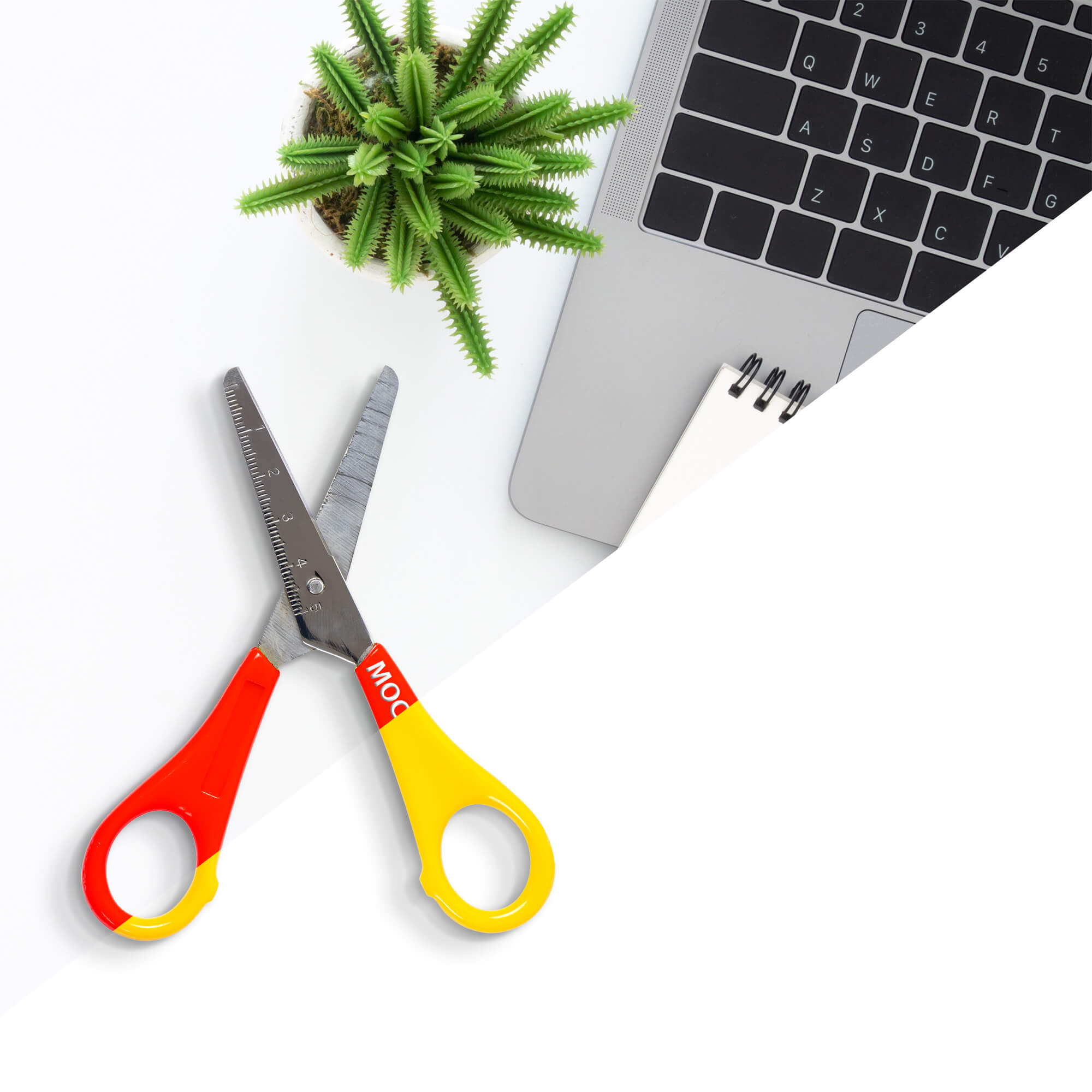 Editable Free Scissors Mockup PSD Template