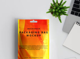 Free Packaging Bag Mockup PSD Template (2)