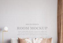 Free Room Mockup PSD Template