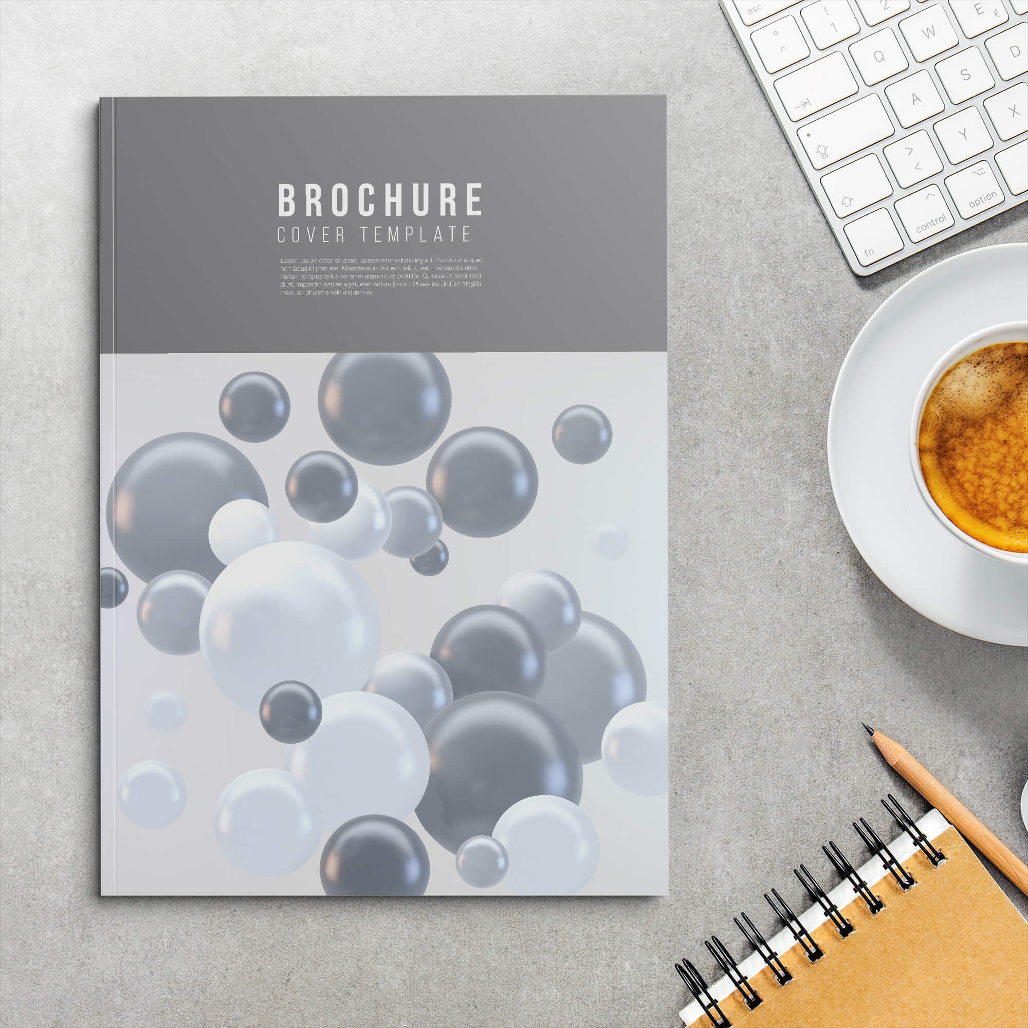 Free Soft Cover Mockup PSD Template