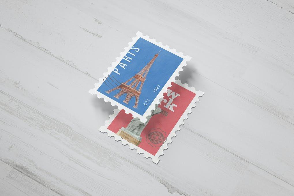Postage Stamp Mockups
