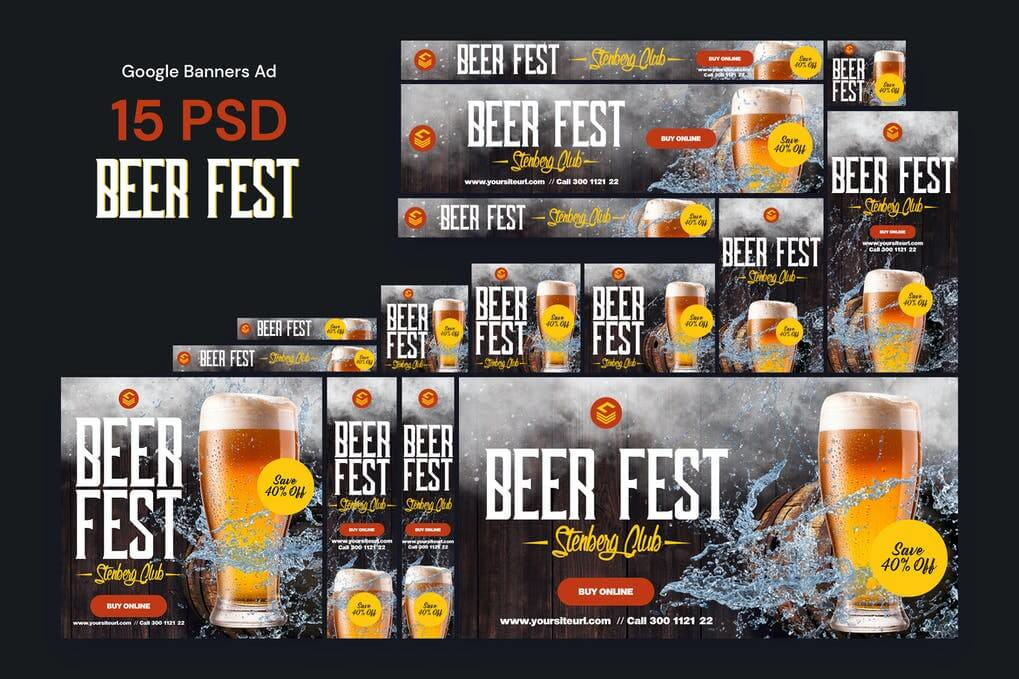 Beer Fest Banners Ad