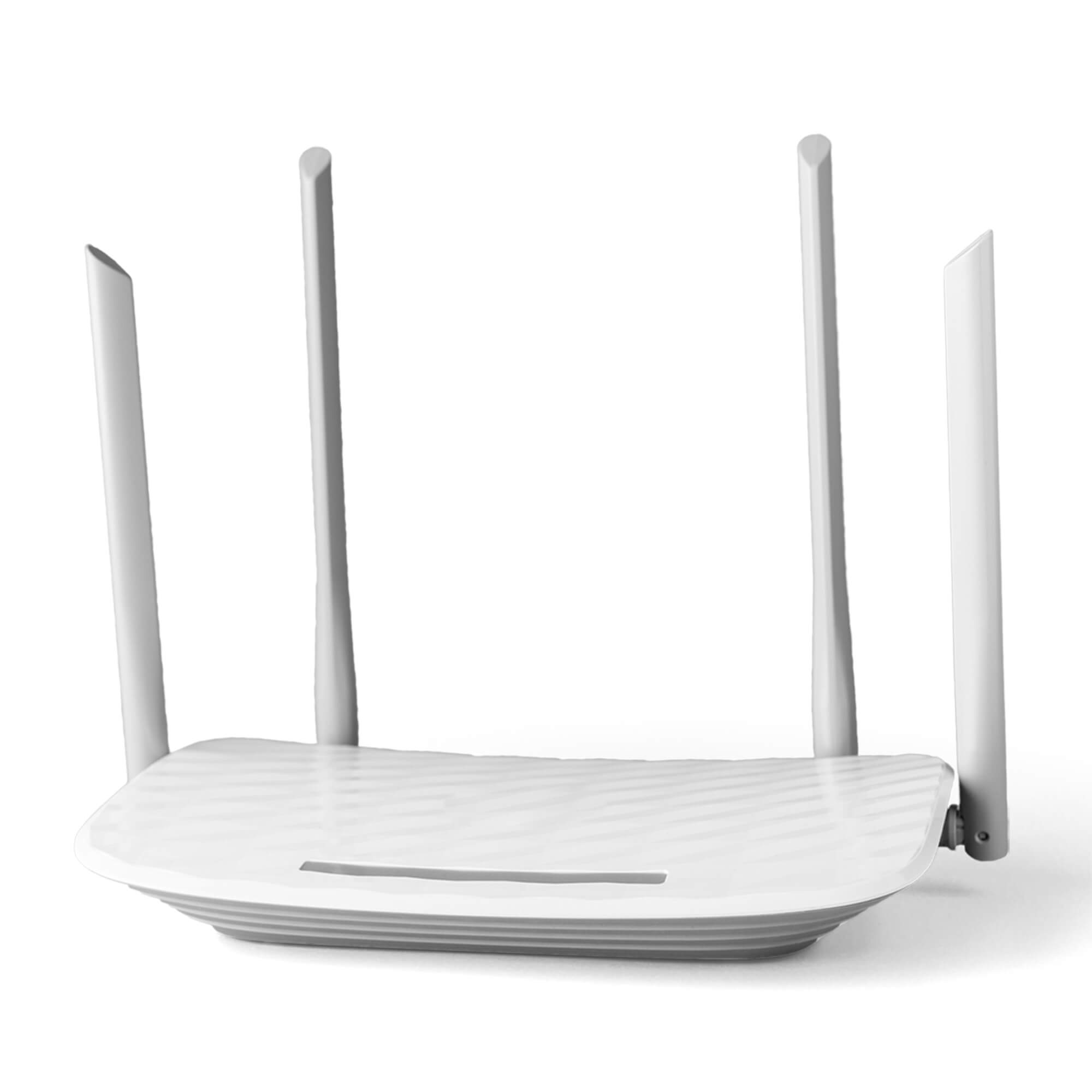 Blank Free Router Mockup PSD Template
