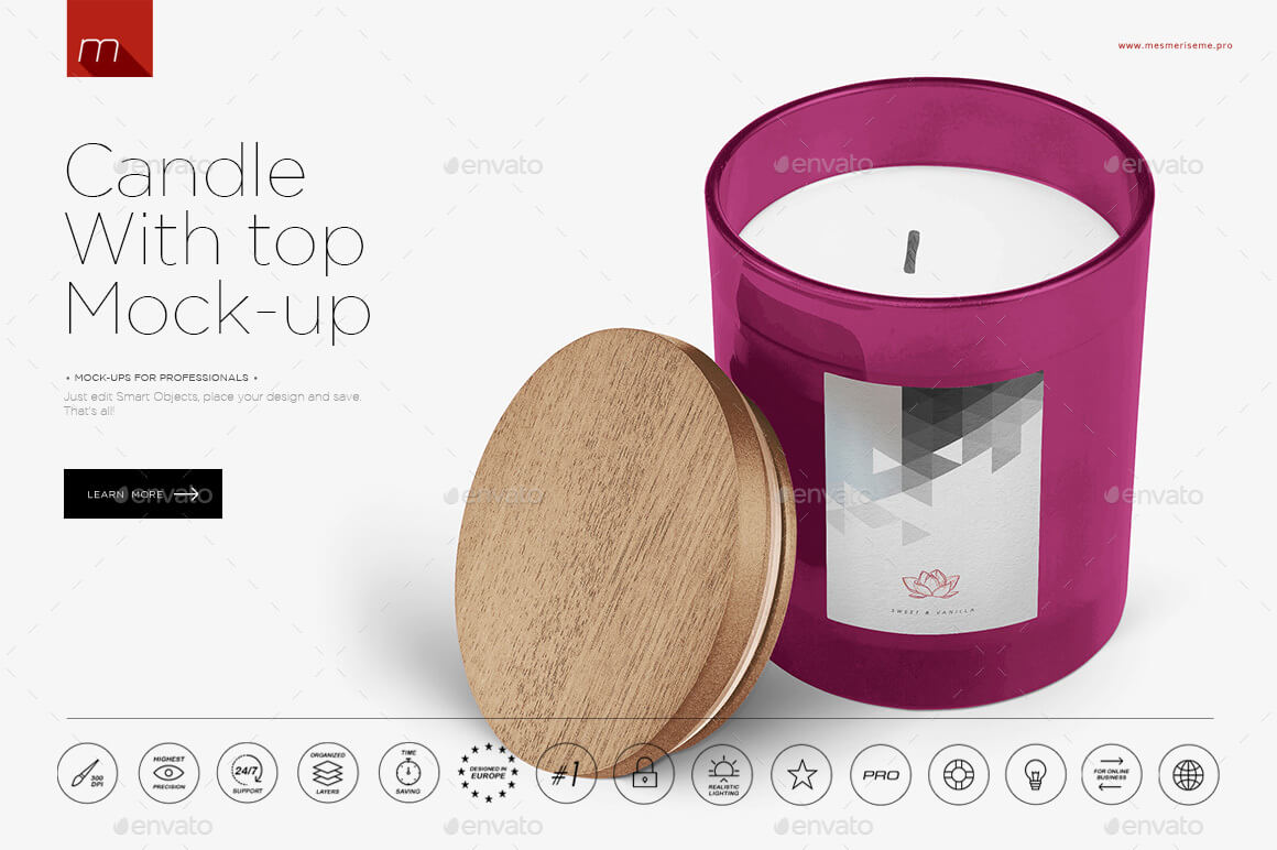 Candle in Glass Mock-up (1)