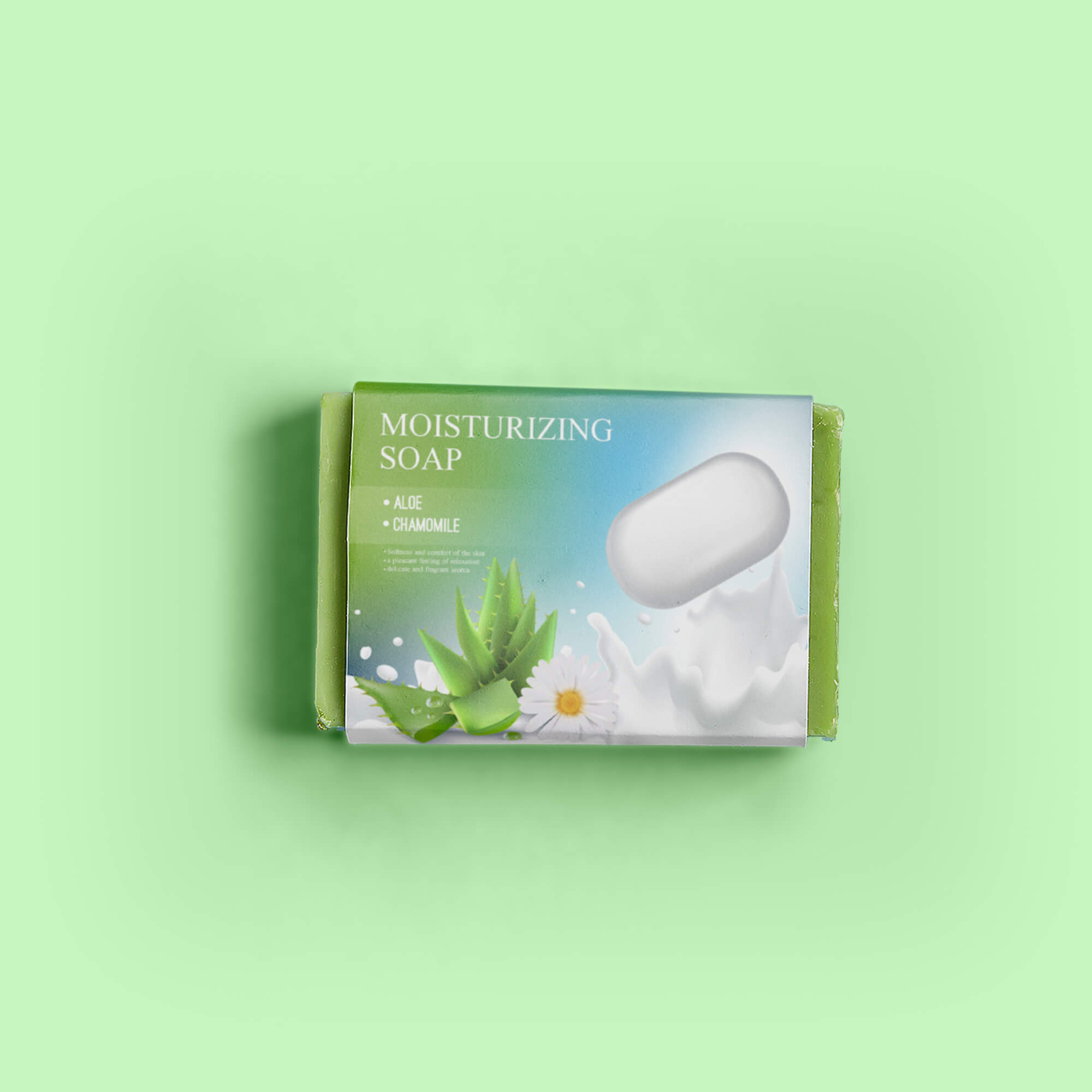 Design Free Soap Packaging Mockup PSD Template
