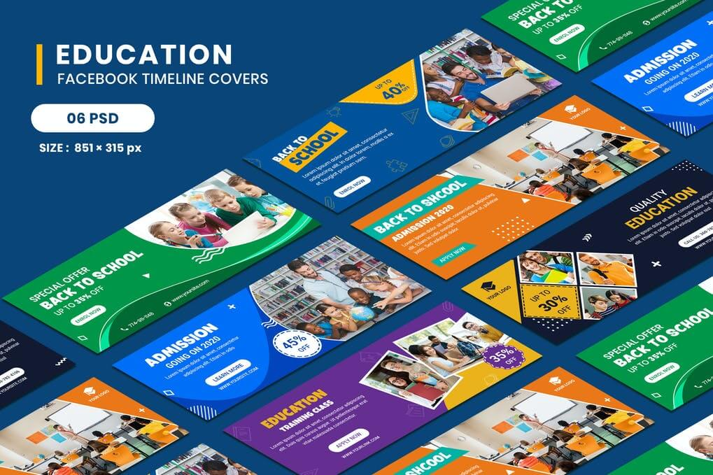 Education Facebook Timeline Covers