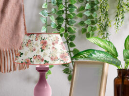 Free Lamp Shade Mockup PSD Template