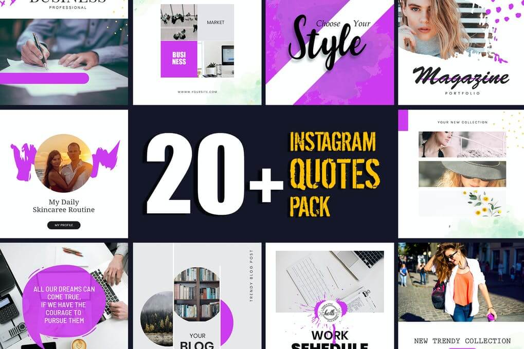 Instagram Quotes Post Template