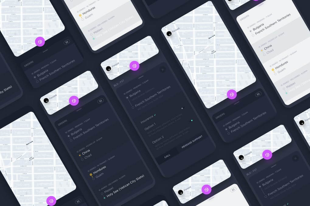 Package Delivery App Kit
